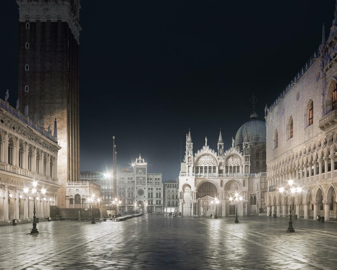David Burdeny - San Marco Night, Venice, IT, 2012