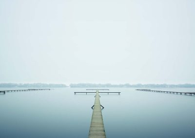 Thin Dock, West Lake, Hangzhou, China, 2011