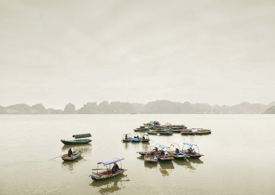 Water Taxis, Vihn Ha Long, Vietnam, 2011