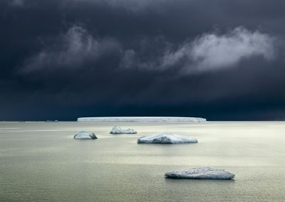 Five Icebergs, Antarctica, 2007