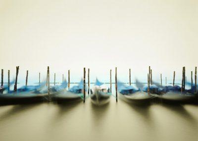 Gondolas, Venice, Italy, 2010