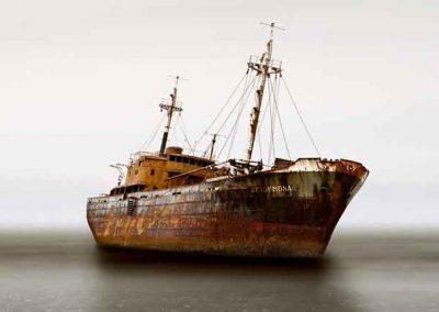 Grounded Ship, Cape San Pablo, Argentina, 2007