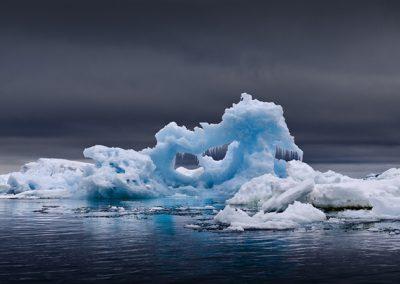 Icebergs Remains, Antarctica, 2007