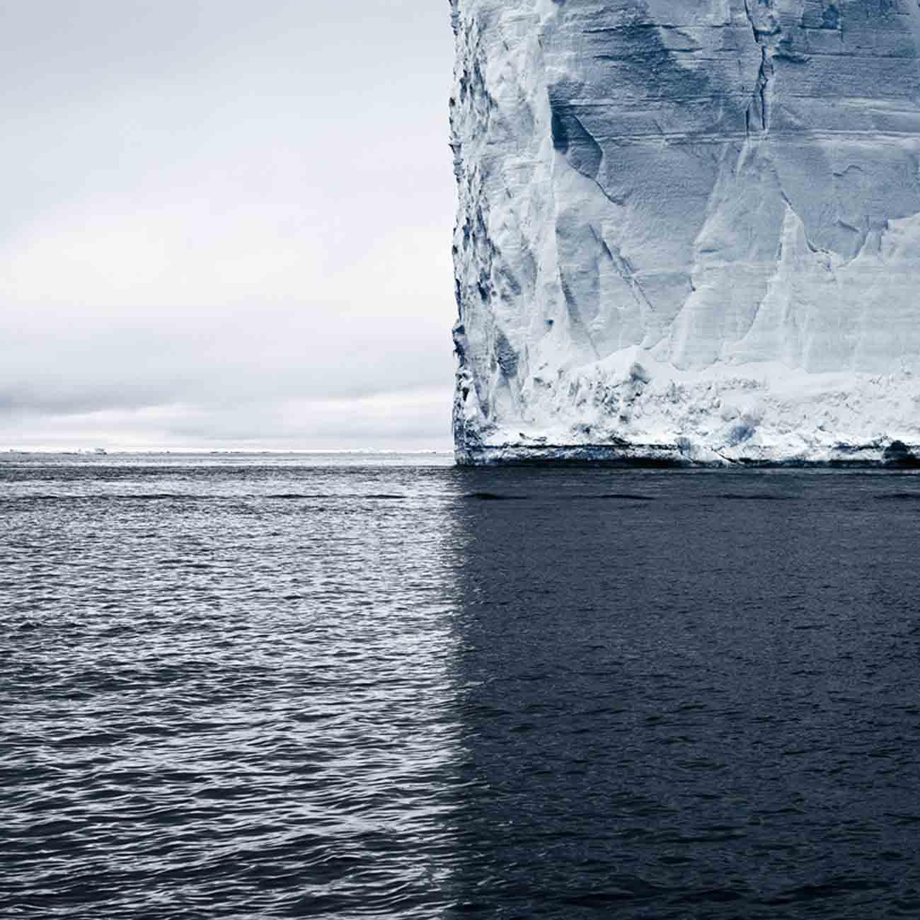 Mercators Projection, Antarctica, 2007 - David Burdeny