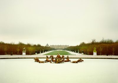 Morning Snow, Versailles, France, 2010