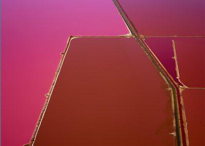 Pink Pools Hut Lagoon, Western Australia, 2015