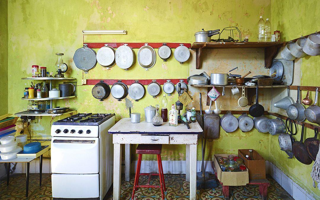 Kitchen, Havana, Cuba, 2014