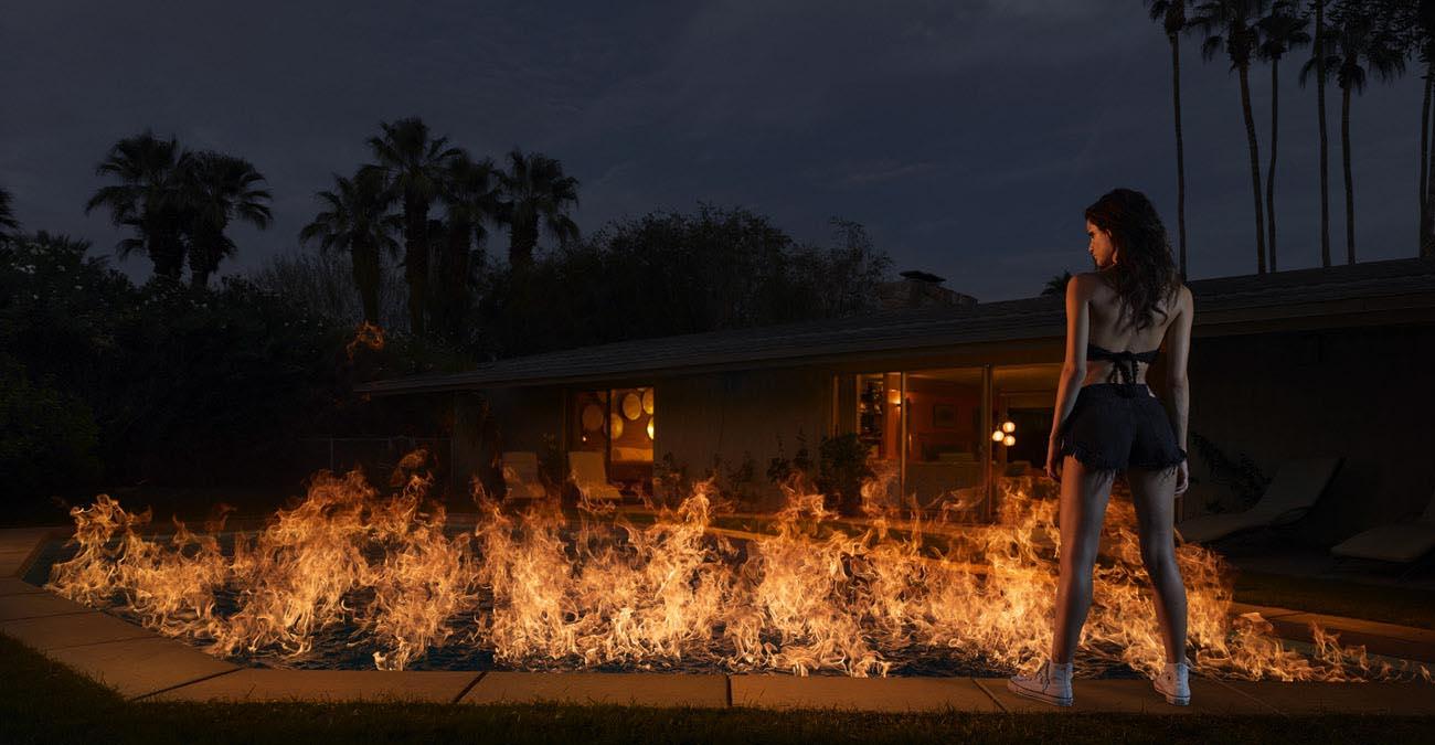 Pool on Fire, Philip Jarmain