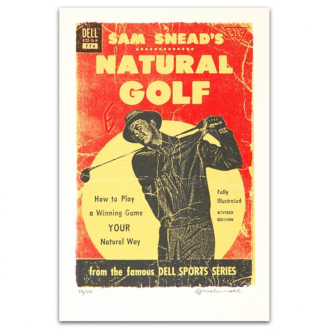Sam Snead's Natural Golf, Edition 15/30, 2000