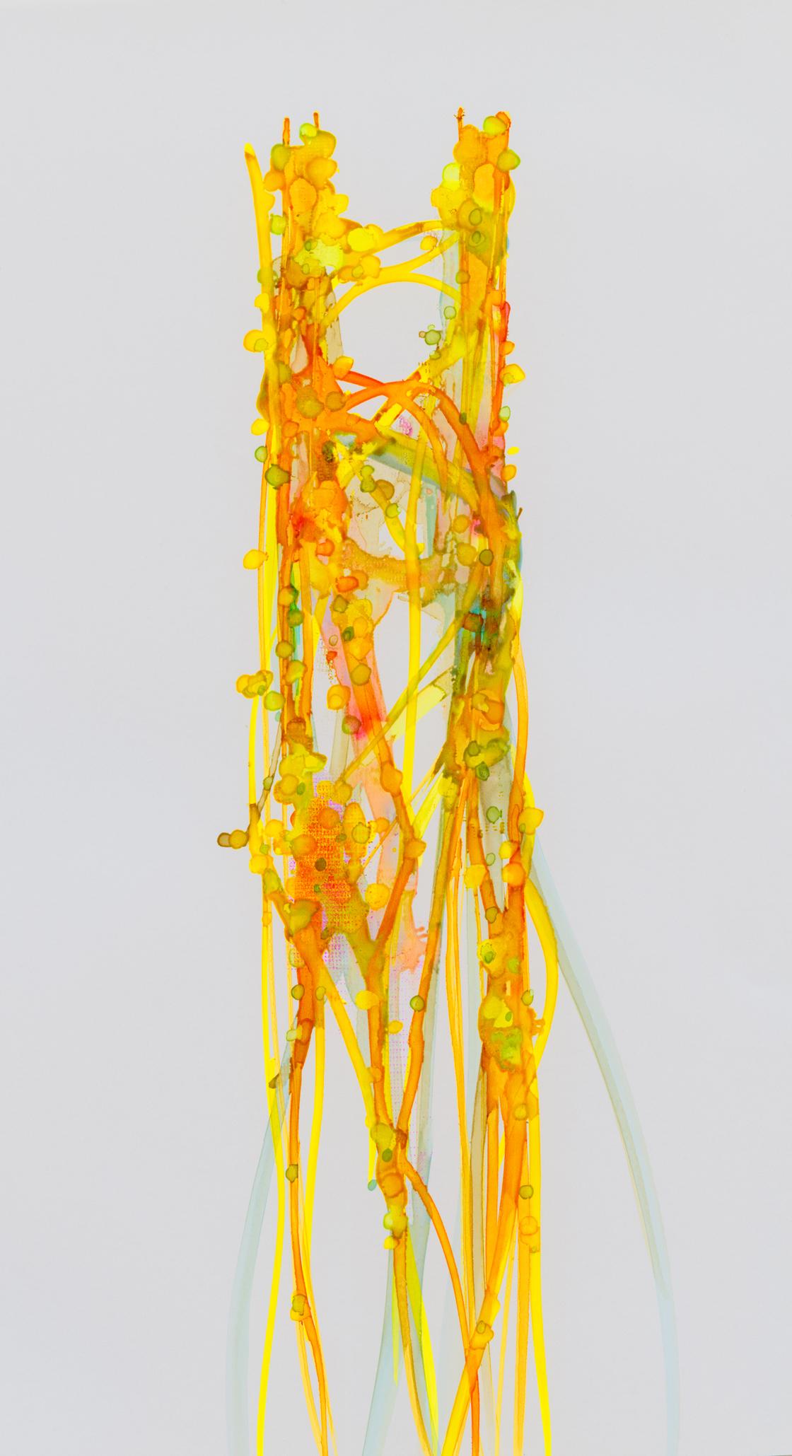 "'Tower', 44"" x 23"" - Curtis Cutshaw at Kostuik Gallery"