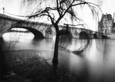 Flooded Seine, 2003