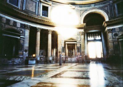Pantheon Interior, Rome, 2008