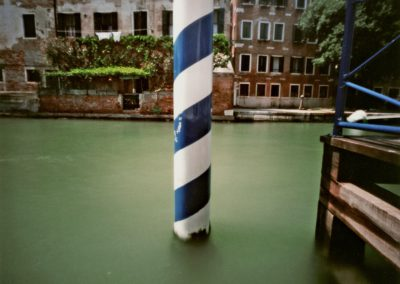 Striped Pole, Venice, 2007