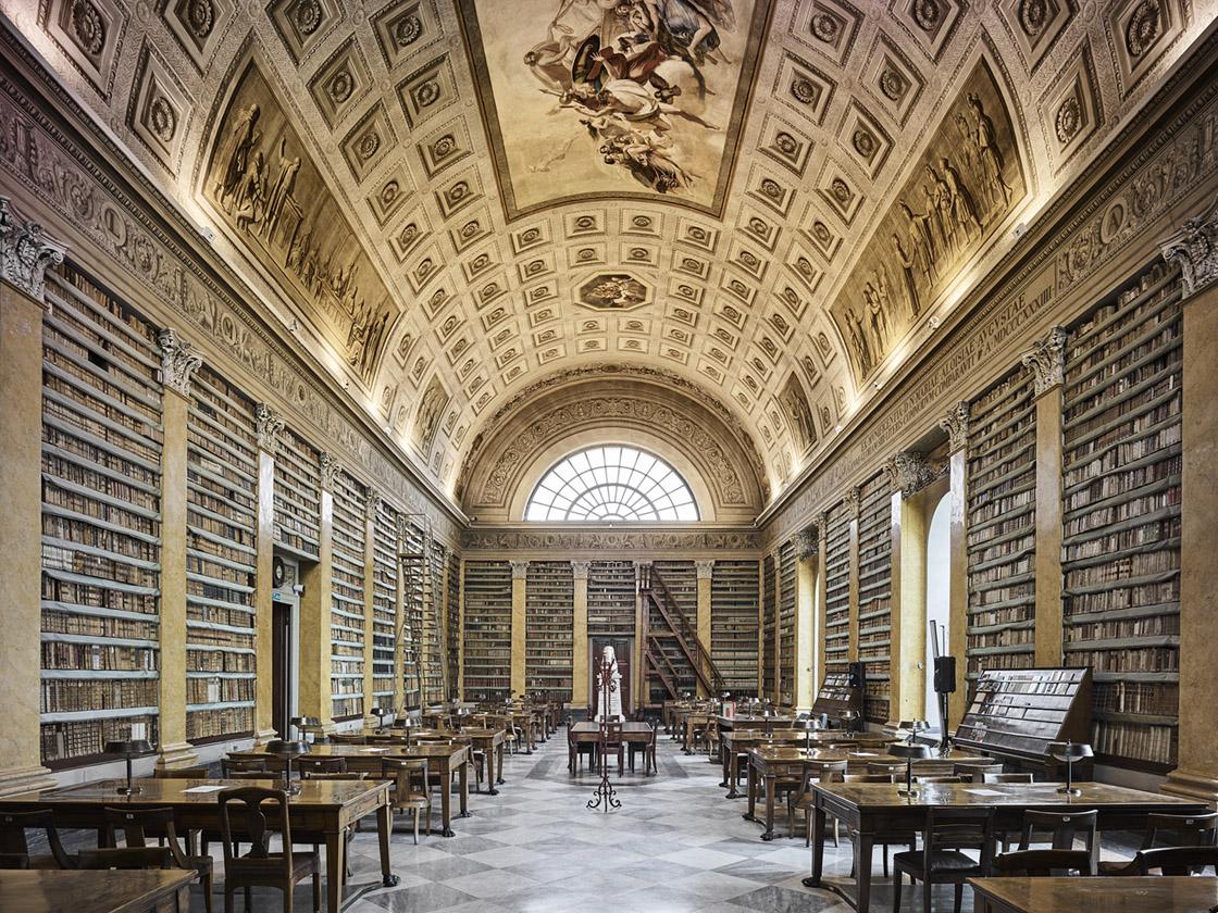 Library, Parma, Italy, 2016 - David Burdeny