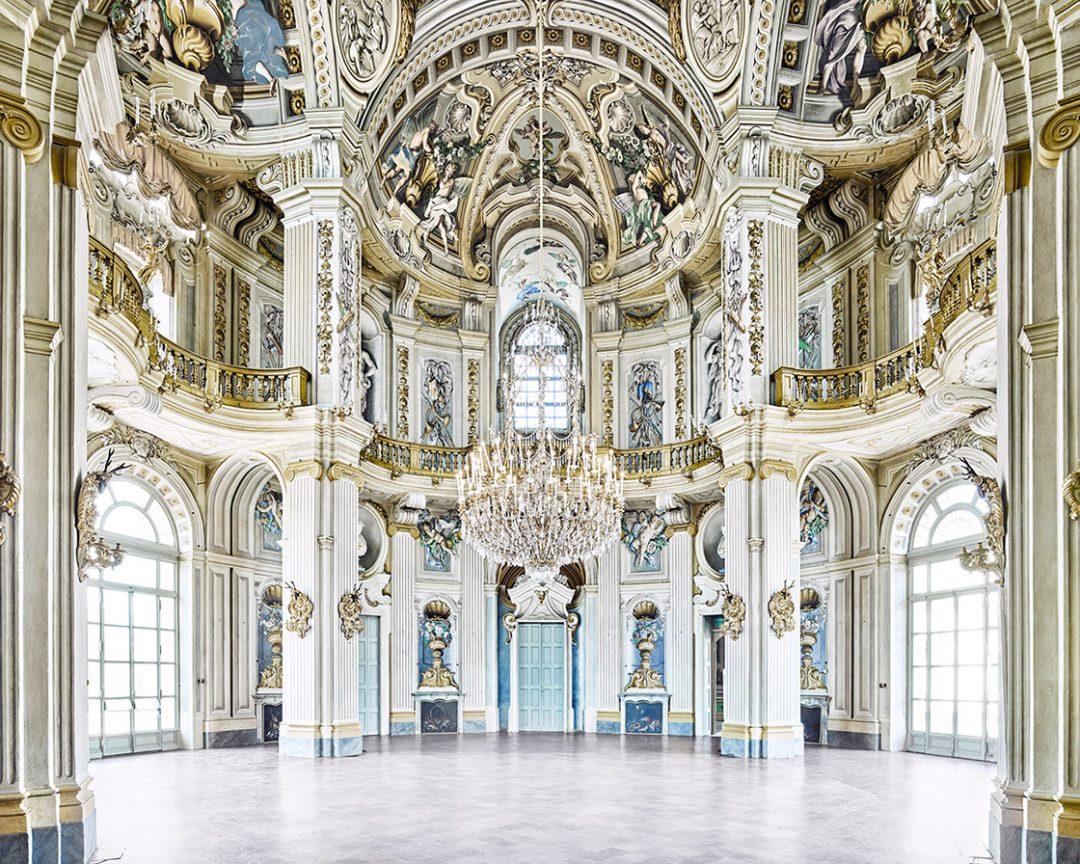 Rotunda, Stupinigi, Palace Piedmont, Italy, 2016 - Davd Burdeny