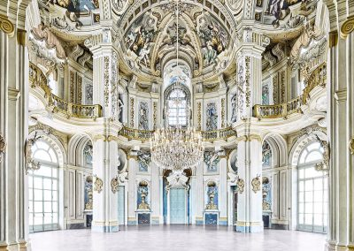 David Burdeny – Rotunda (Hunting Lodge), Stupinigi, Palace Piedmont, Italy, 2016