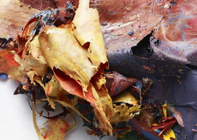 The Painted Photograph: Remnants – #484 V1, edition 1/1