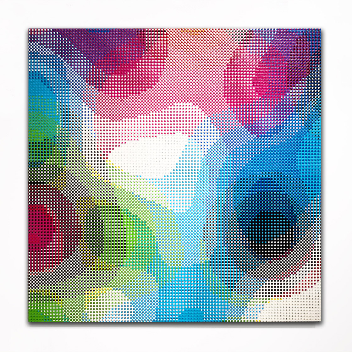 William Betts, Unicorn, 36 x 36 inches, 2017