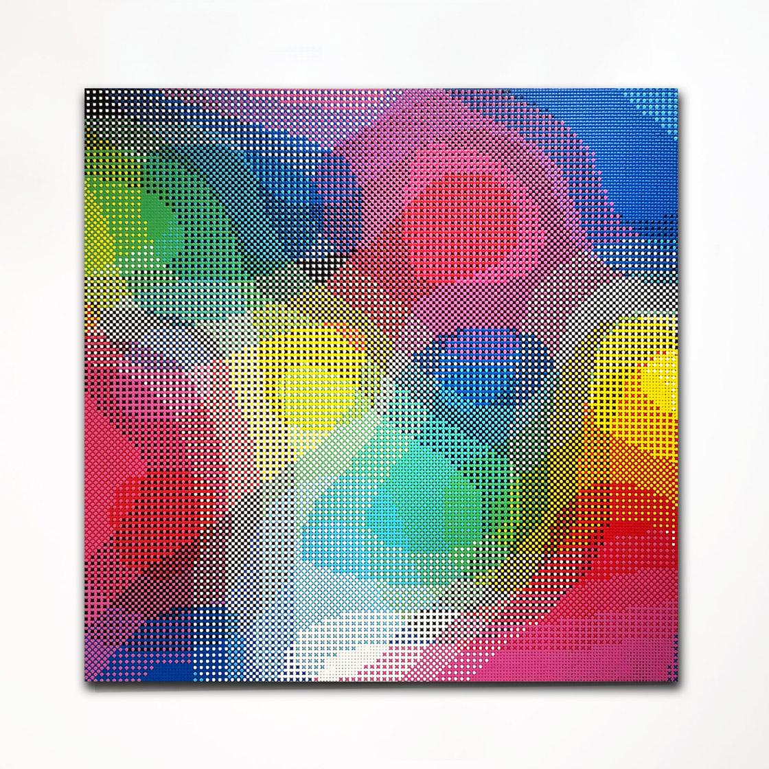 William Betts, Crossfade, ColorSpace XXX, 48x48, 2017