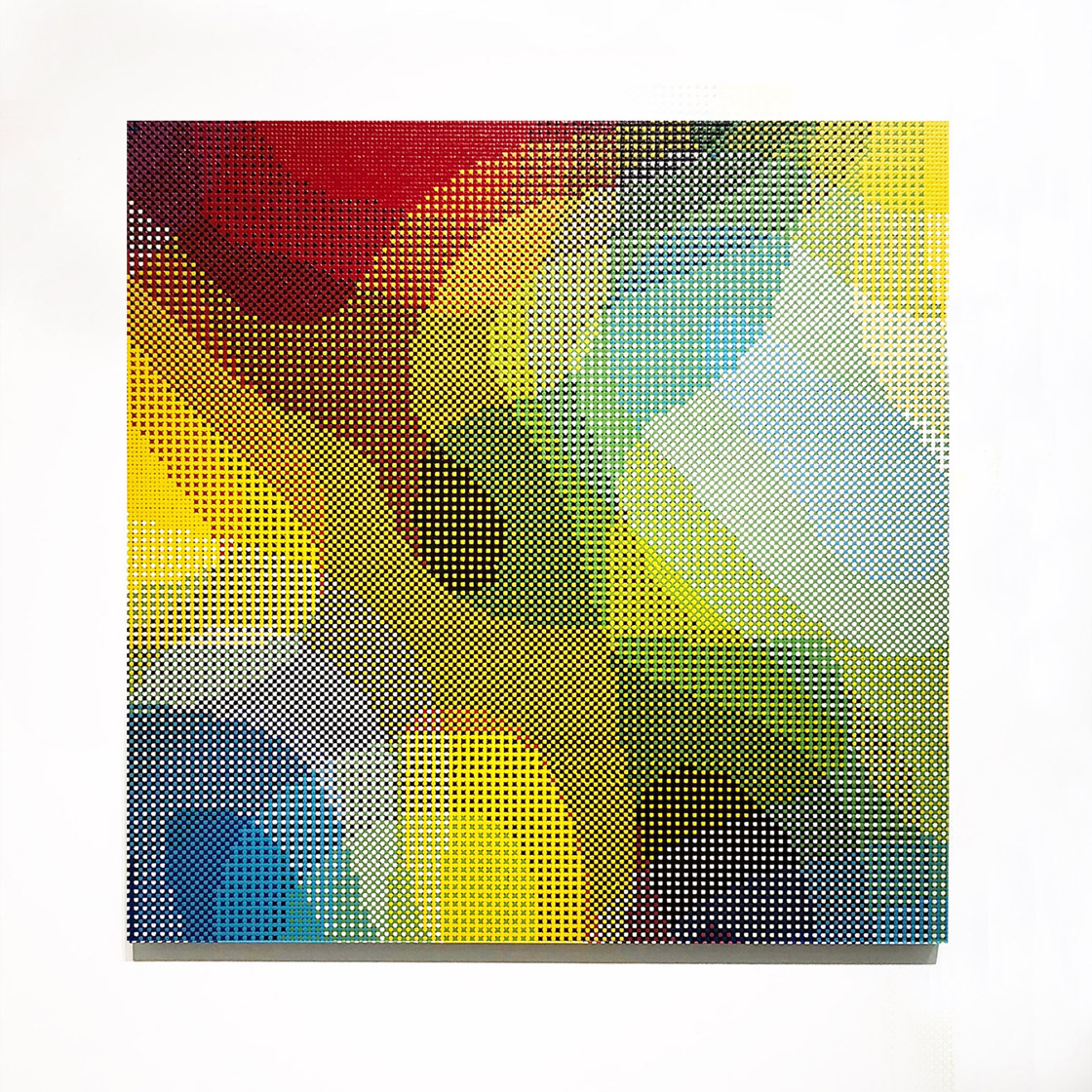 William Betts, Tango, Color Space XVIII, 36x36, 2017