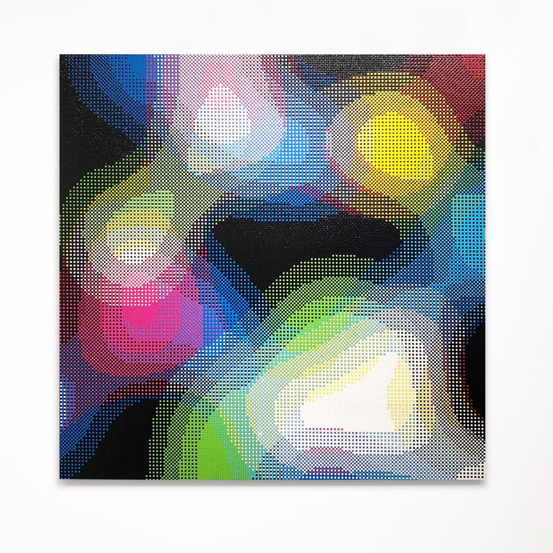 William Betts, Passage, ColorSpace, XVI, 60x60, 2017