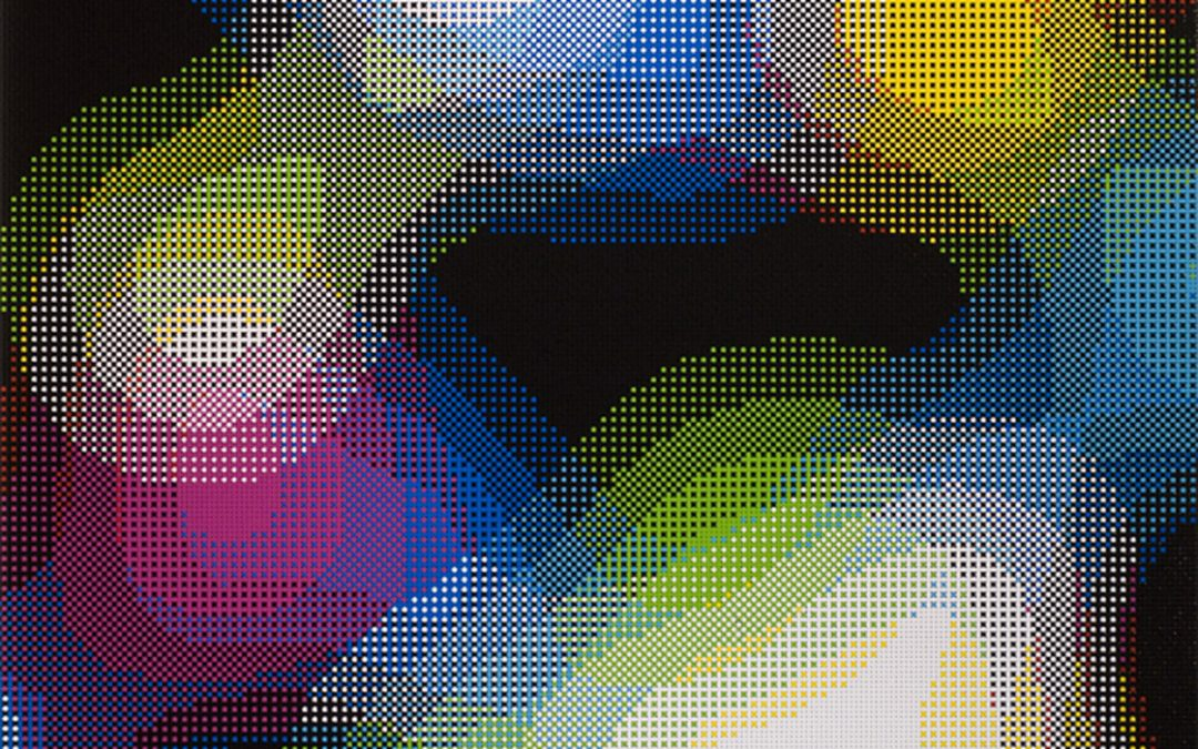 William Betts Color Space, new paintings