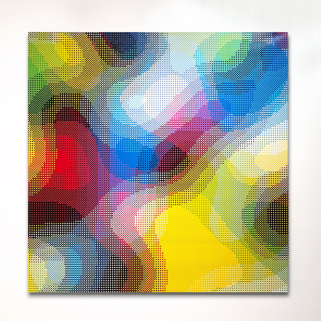 William Betts, Threshold, Color SpaceXXV, 60x60, 2017