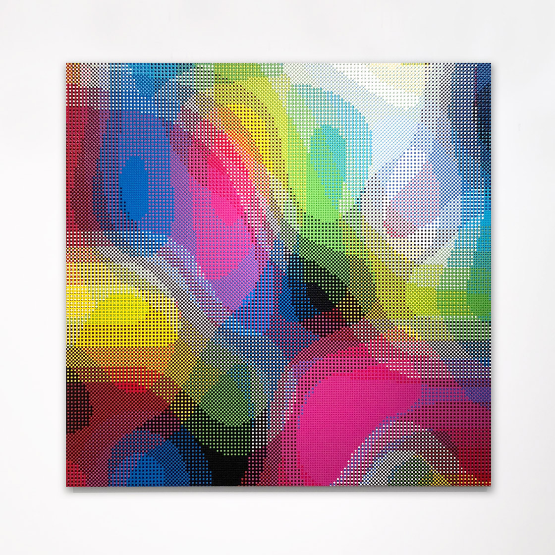 William Betts, Prism, Color Space XXIV, 60x60, 2017