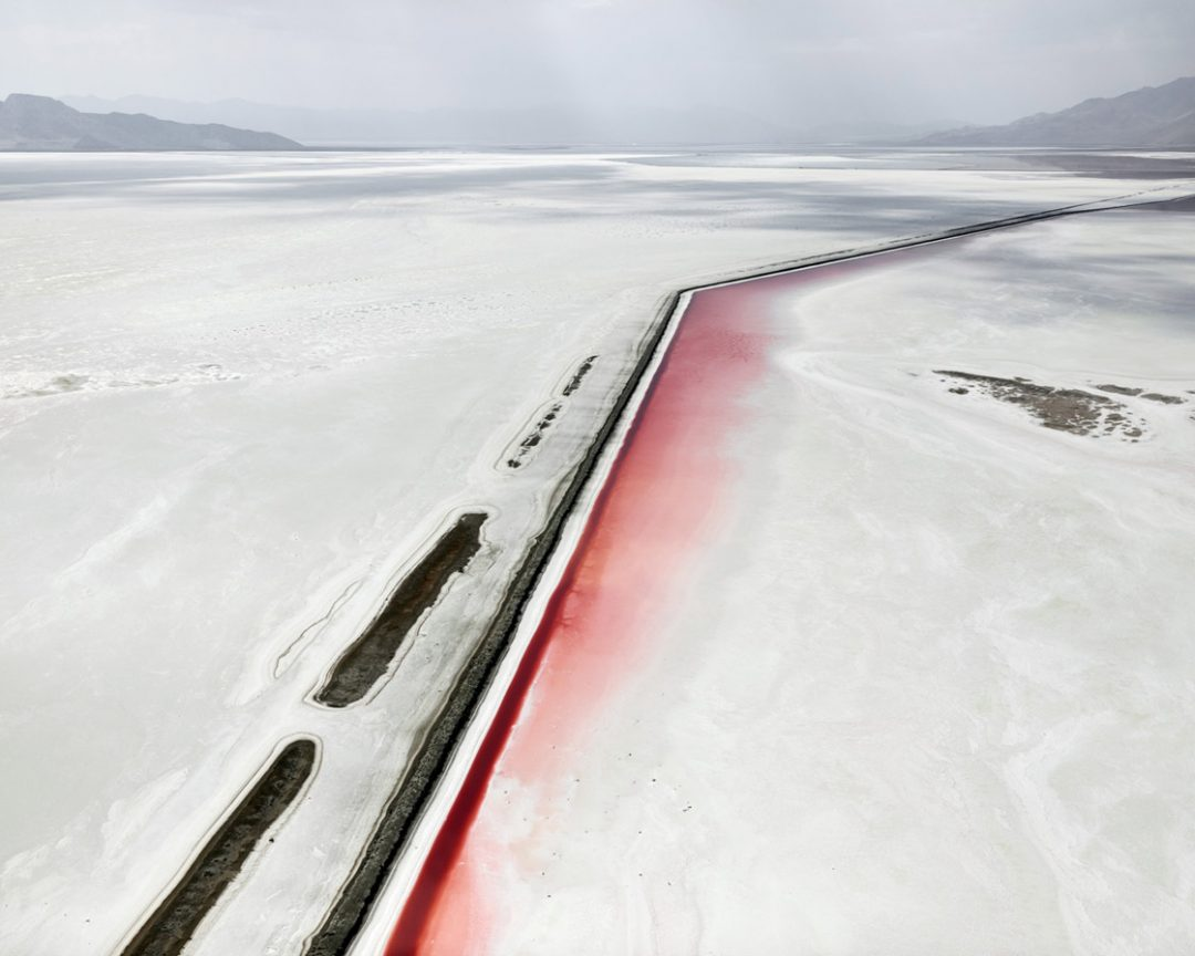 Red Canal, Great Salt Lake, Utah,2017