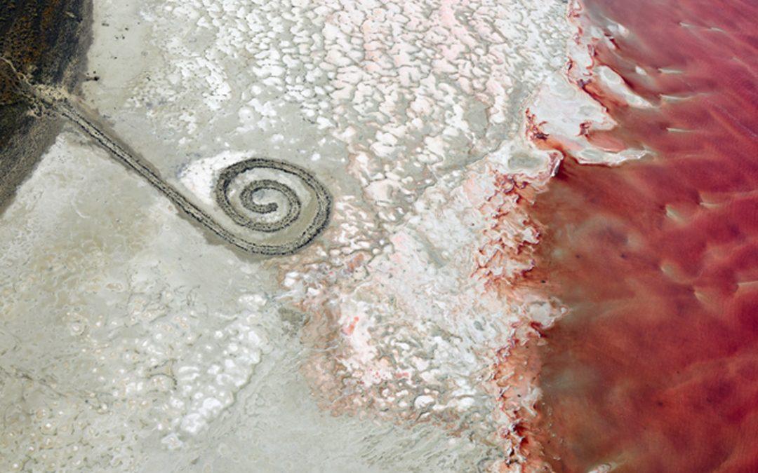 Spiral Jetty 2, Great Salt Lake, Utah, 2017