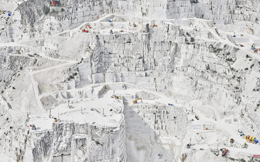 "David Burdeny ""Carrara – Cava Bianco"""