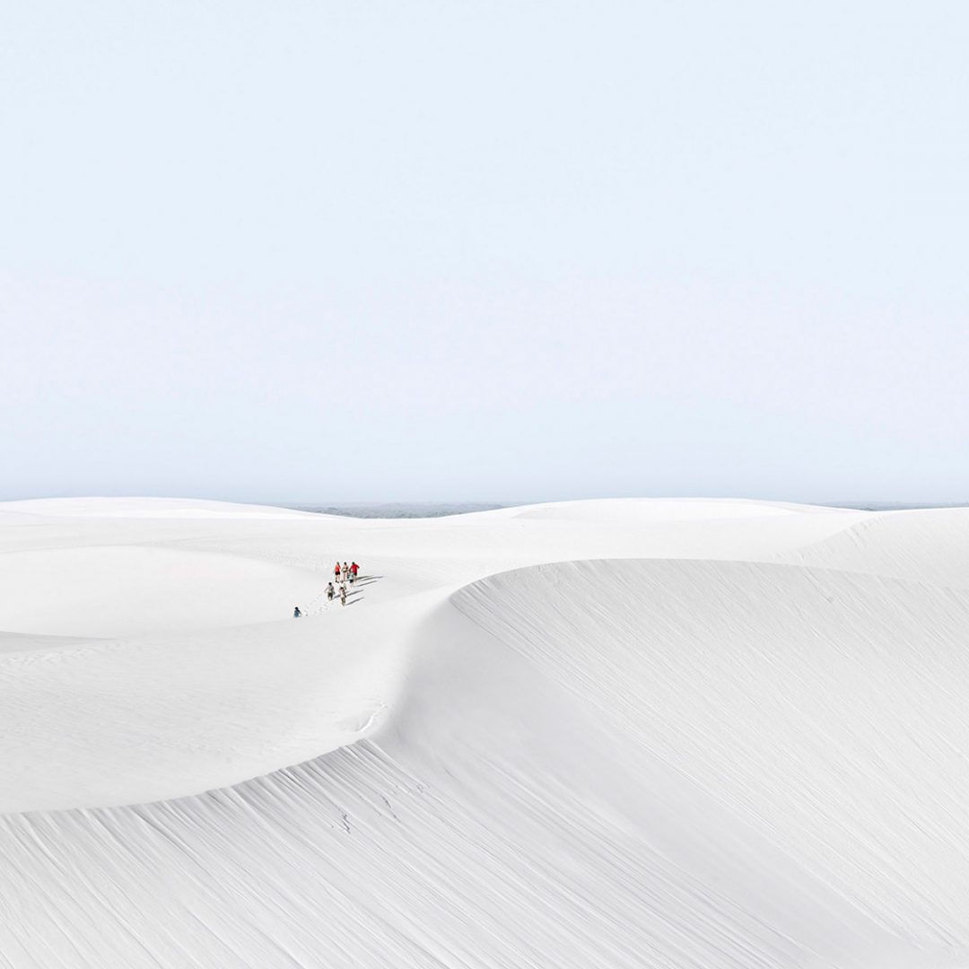 'Angle of Repose, Lencois Maranhenses, Brazil' - David Burdeny
