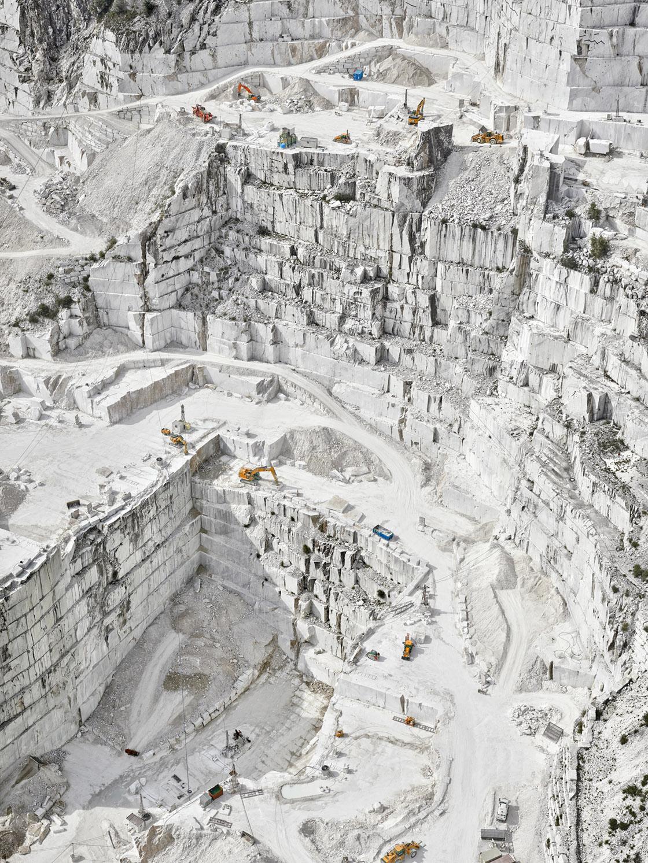 'Cava Bianco III,Carrara, IT, 2018' - David Burdeny at Kostuik Gallery