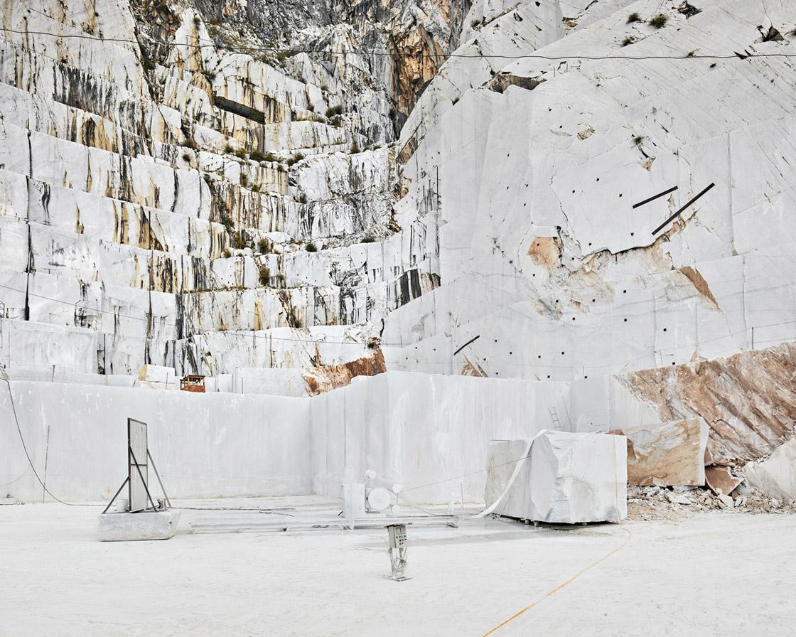 David Burdeny Diamond Saw, Michelangelo Quarry, CarreraI, IT