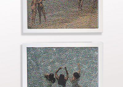 Selfie & Untitled I, Elafonsi Crete, Combo Installation