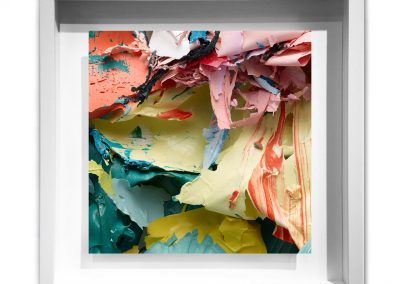 The Painted Photograph: Remnants and Other Fragments – Fragment 02 V1, framed - Judy D Shane at Kostuik Gallery