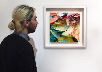 The Painted Photograph: Remnants and Other Fragments – Fragment 02 V1, installation - Judy D Shane at Kostuik Gallery