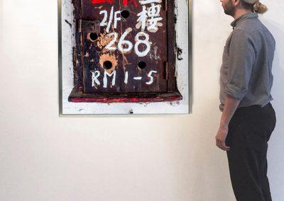 268-Hai Tan Street (Installation) - David Elliott at Kostuik Gallery
