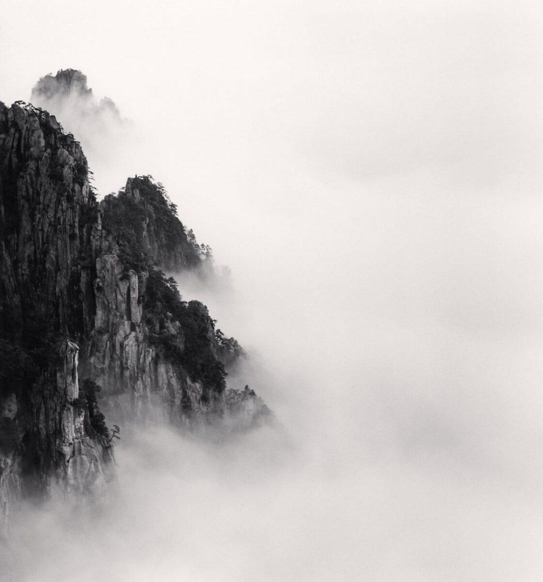 Huangshan Mountains, Study 6, Anhui, China - Michael Kenna