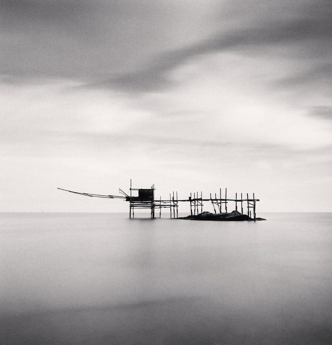 Trabocco Punta Aderci, Study 2, Vasto, Abruzzo, Italy - Michael Kenna