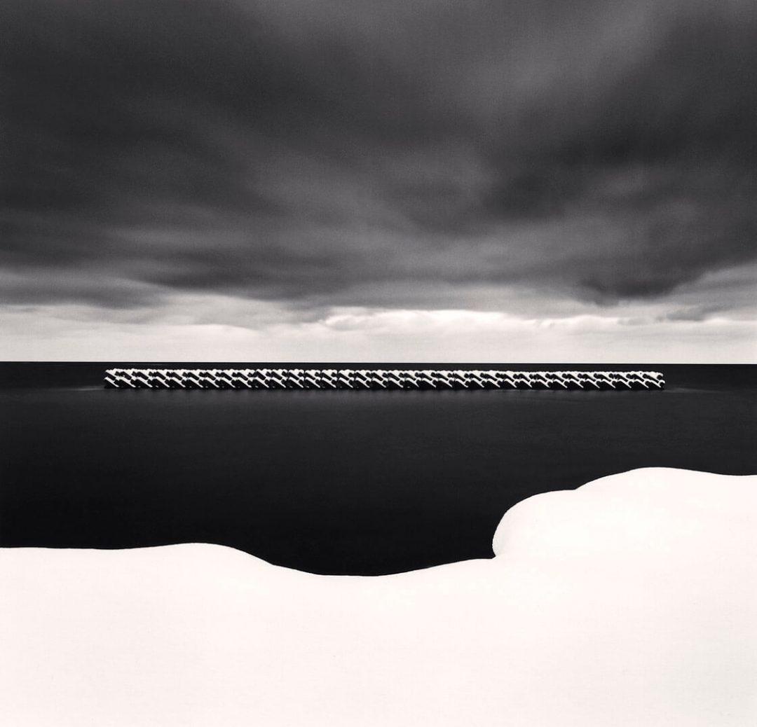 Winter Seascape, Wakkanai, Hokkaido, Japan - Michael Kenna