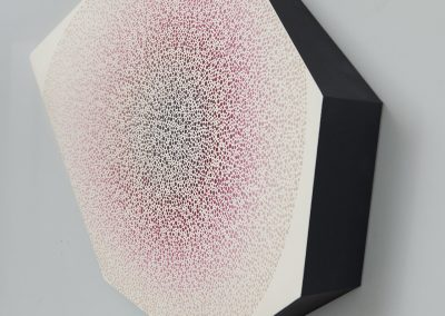 "Partnership In Unity, 35"" x 30"", Detail - AJ Oishi at Kostuik Gallery"
