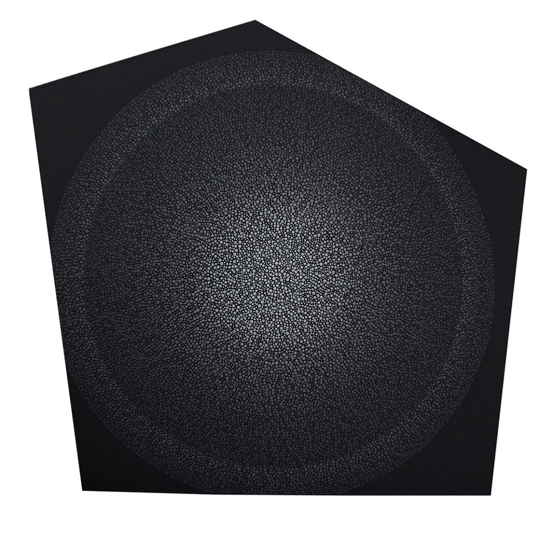 "Simplistic Layers, 52"" x 48"" - AJ Oishi"