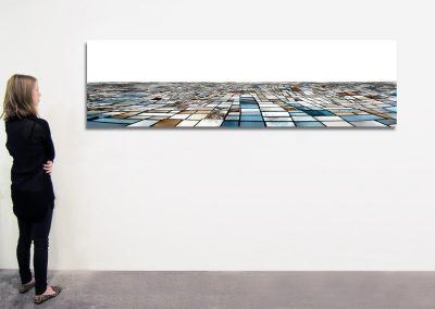 "Salinas - Seasonal Sequence, 29.5"" x 106"", Installation - Georg Kuettinger"