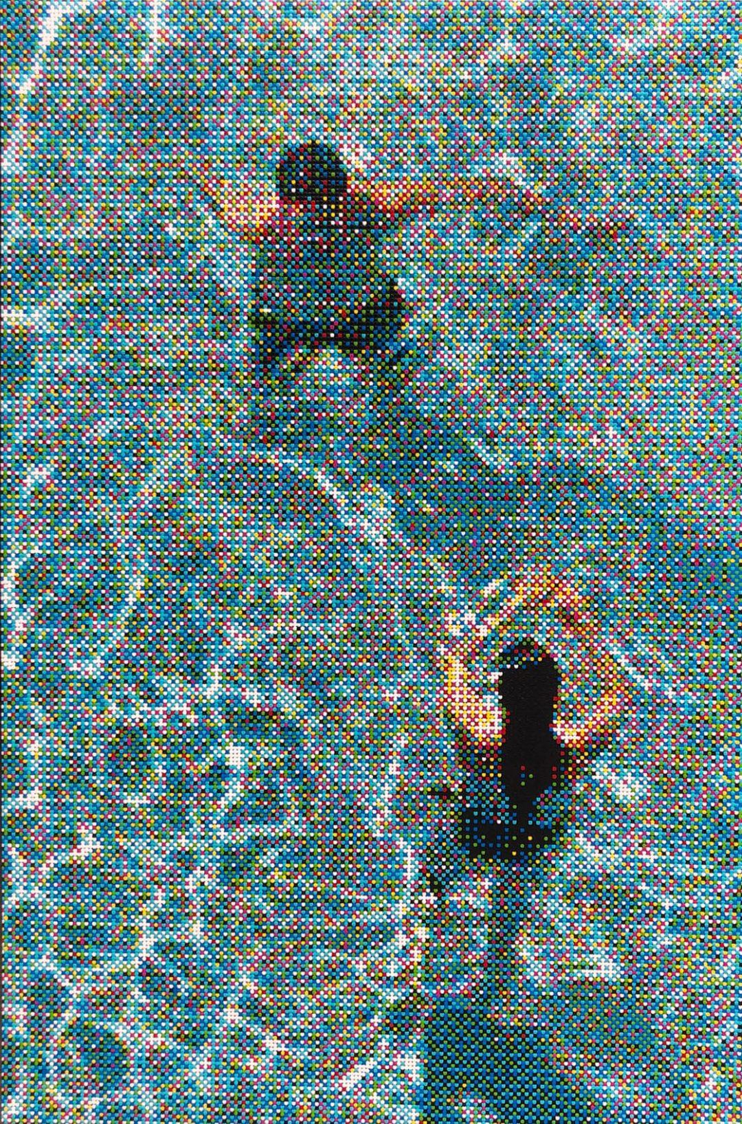 "Swimmers XXXII, 72"" x 48"" - William Betts"