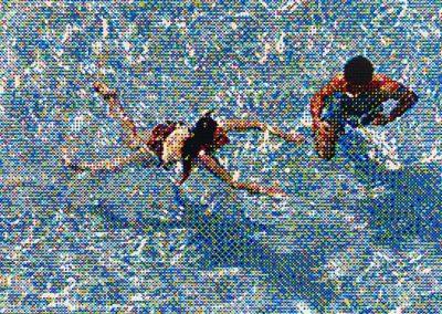 William Betts- Swimmers III, Miami Beach