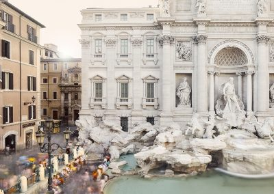 Fontana di Trevi, Rome, Italy, 2018