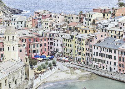 Vernazza Harbour, Cinque Terre, Italy, 2018