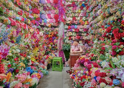 David Burdeny – Flower Vendor, Yiwu, China 2019