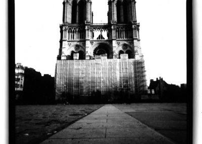 Dianne Bos – Notre Dame, Paris, 1998